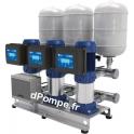 Surpresseur Ebara 3GPE CVM B/20I ESPT 304M de 5,4 à 21,6 m3/h entre 74 et 30,6 m HMT Tri 400 V 1,5 kW Variateur E-SPD Tri 400 V