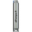 Hydraulique de Pompe Immergée Dab S4 3/19 de 1,8 à 4,2 m3/h entre 93 et 42 m HMT - dPompe.fr