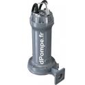 Pompe de Relevage Zenit GREY GRG 400/2/G50 T de 3,6 à 25,2 m3/h entre 34,8 et 17,7 m HMT Tri 400 V 3 kW - dPompe.fr