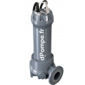 Pompe de Relevage Zenit GREY DGG 400/4/80 T de 28,8 à 100,8 m3/h entre 9,2 et 1,9 m HMT Tri 400 V 3 kW - dPompe.fr