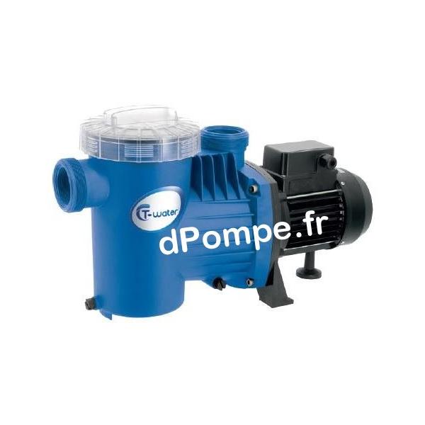 Pompe De Piscine T Water Alfa 50 M De 8 4 A 17 5 M3 H