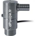 Compteur à Impulsion Piusi TURBINOX 90° de 10 à 40 l/mn 20 bar 88 Impulsions