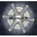 Crépine Étoile de Filtration 6 branches - dPompe.fr