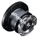 """Adaptateur Raccord Sec Auto-Obturant DN 100 Taraudé 4"""" (102 x 114) BSP - dPompe.fr"""
