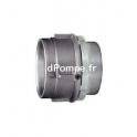 "Raccord Tournant Inox 316 Mâle Femelle Joint FPM 2"" (50 x 60) - dPompe.fr"