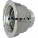 "Raccord à Gros Filet Rond GFR Aluminium Femelle Mâle DN 80 x 3"" (80 x 90) - dPompe.fr"