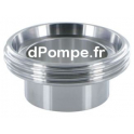 Raccord DIN 11 851 Inox 316L Mâle DN 25 à Souder DN 28 - dPompe.fr