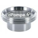 Raccord DIN 11 851 Inox 316L Mâle DN 40 à Souder DN 40 - dPompe.fr