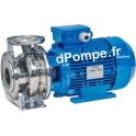 Pompe de Surface Speroni CX 40-160/4 Inox de 12 à 42 m3/h entre 31 et 26 m HMT Tri 400 V 4 kW - dPompe.fr