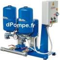 Surpresseur Speroni 2 RV 80 de 1 à 21,5 m3/h entre 97 et 15 m HMT Tri 400 V 2 x 3 kW
