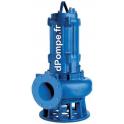 Pompe de Relevage Speroni SQ 150-15 de 30 à 210 m3/h entre 26 et 14 m HMT Tri 400 V 15 kW - dPompe.fr