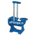 """Pied d'Assise Speroni SQ65-SQ85 Taraudé 3"""" (prévoir barres de guidage 1"""") - dPompe.fr"""