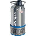 Pompe de Relevage Speroni AS 730 T de 6 à 30 m3/h entre 20 et 11 m HMT Tri 400 V 2,2 kW - dPompe.fr
