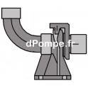 """Pied d'Assise Taraudé 2"""" pour Pompe Grundfos UNILIFT AP35B - AP50B avec Griffe (prévoir barres de guidage 3/4"""")"""