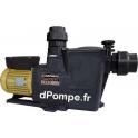 Pompe de Piscine Hayward SUPER PUMP PRO SP2616XY223 de 2 à 24,5 m3/h entre 15 et 1,9 m HMT Tri 400 V 0,9 kW - dPompe.fr