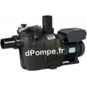 Pompe de Piscine Hayward RSII 3020 VSTD à Vitesse Variable de 2 à 30 m3/h entre 19,5 et 3 m HMT Mono 230 V 1,5 kW - dPompe.fr