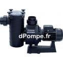 Pompe de Piscine Hayward HCP 38353E de 20 à 79 m3/h entre 18 et 6,5 m HMT Tri 230 400 V 3,7 kW - dPompe.fr
