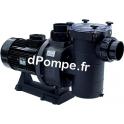 Pompe de Piscine Hayward HCP 40553E de 23 à 90 m3/h entre 18,5 et 9 m HMT Tri 400 700 V 4,71 kW - dPompe.fr