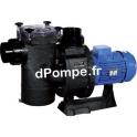 Pompe de Piscine Hayward HCP 42753E de 25 à 120 m3/h entre 18 et 8 m HMT Tri 400 700 V 7 kW - dPompe.fr