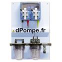 Panneau de Régulation pH et REDOX Emec WDPHRX 6 l/h à 7 bar - dPompe.fr
