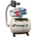 Surpresseur Pedrollo GW-FRESH PLURIJETm 4/100-N 20H de 0,6 à 7,8 m3/h entre 49 et 5 m HMT Mono 220-230 V 0,75 kW