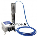 """Pompe Immergée Solaire Well Pumps 3""""WPS SOLAR 2-13 PMM 300 W 5 à 8 m3/h 15 m HMT Tri 50 V - dPompe.fr"""