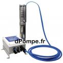 """Pompe Immergée Solaire Well Pumps 3""""WPS SOLAR 2-25 PMM 600 W 10 à 15 m3/h 20 m HMT Tri 90 V - dPompe.fr"""