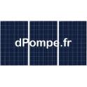 Kit de 3 Panneaux Photovoltaïques 270 W avec Support Aluminium, Câble Solaire et Kit de Mise à la Terre - dPompe.fr
