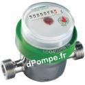 """Compteur Volumétrique Inox 304 DHV1300-8110 3/4"""" (20 x 27) 1 m3/h 30°C max - dPompe.fr"""
