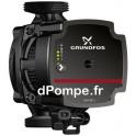 Circulateur à Vitesse Variable Grundfos ALPHA1 L 20-40 130 de 0,47 à 2,86 m3/h entre 4,4 et 0,8 m HMT Mono 230 V 4 à 25 W - dPom