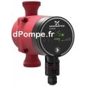 Circulateur Inox à Vitesse Variable Grundfos ALPHA1 20-40 N 150 de 0,25 à 2,4 m3/h entre 4 et 0,9 m HMT Mono 230 V 22 W - dPompe