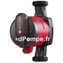 Circulateur à Vitesse Variable Grundfos ALPHA2 25-60 A 180 de 0,65 à 3,4 m3/h entre 6 et 1 m HMT Mono 230 V 3 à 34 W - dPompe.fr