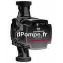 Circulateur Grundfos ALPHA SOLAR 15-75 130 de 0,56 à 3,4 m3/h entre 7,7 et 1,5 m HMT Mono 230 V 45 W - dPompe.fr