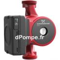 Circulateur Grundfos UPS2 25-80 180 de 3,25 à 6,5 m3/h entre 8 et 3,7 m HMT Mono 230 V 140 W - dPompe.fr