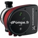 """Circulateur Électronique Grundfos MAGNA1 32-80 Fileté 1""""1/2 de 2,7 à 10,2 m3/h entre 8,5 et 1 m HMT Mono 230 V 151 W - dPompe.fr"""