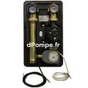 Kit Chaudière Grundfos BOILER KIT 3V ALPHA1 25-60 de 0,61 à 3,57 m3/h entre 6,4 et 1,3 m HMT Mono 230 V 4 à 45 W - dPompe.fr