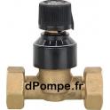 """Soupape Différentielle Grundfos L = 65 mm avec Écrous 3/4"""" (20 x 27) - dPompe.fr"""