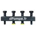 Collecteur Grundfos 2 Circuits avec Séparation/Compensation Hydraulique - dPompe.fr