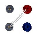 Pièces de Thermomètres Bleu et Rouge Utilisées dans les Kits 2 et 3 voies - dPompe.fr