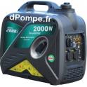 Groupe Électrogène ACCESS 2000 i + DIFF Insonorisé Essence Monophasé 2,5 kVA 2 kW - dPompe.fr