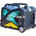 Groupe Électrogène ACCESS 3000 i + DIFF Insonorisé Essence Monophasé 3,75 kVA 3 kW - dPompe.fr