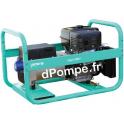 Groupe Électrogène EXPERT 7510 X + DIFF et AVR Essence Monophasé 8,8 kVA 7 kW - dPompe.fr