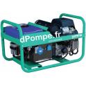 Groupe Électrogène LEADER 12500 XL21 DE + AVR Essence Monophasé 13,3 kVA 10,6 kW - dPompe.fr