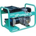 Groupe Électrogène MASTER 6010 DTXL15 YN DE + DIFF et AVR Diesel Monophasé 6,5 kVA 5,2 kW - dPompe.fr