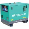 Groupe Électrogène SILENTSTAR 6000D M YN + AVR Diesel Monophasé 6 kVA 5,2 kW - dPompe.fr
