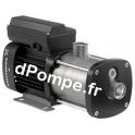 Pompe de Surface Grundfos CM-G 1-5 Inox 316 de 0,7 à 2,5 m3/h entre 42 et 16 m HMT Tri 380 415 V 0,46 kW - dPompe.fr