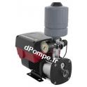 Surpresseur Grundfos CMBE 1-44 de 0,2 à 3,3 m3/h entre 47,5 et 17,5 m HMT Mono 200 240 V 0,55 kW - dPompe.fr