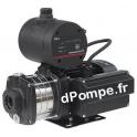 Surpresseur Grundfos CMB 1-45 PM1 1,5 bar de 0,2 à 1,5 m3/h entre 44,5 et 33 m HMT Mono 220 240 V 0,5 kW - dPompe.fr