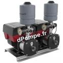 Surpresseur Grundfos CMBE Twin 5-62 Sicherungskasten de 4,65 à 7,75 m3/h entre 59 et 34 m HMT Mono 200 240 V 1,5 kW - dPompe.fr