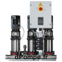 Surpresseur Grundfos HYDRO MULTI-S 3 CR 5-8/P de 7,5 à 24 m3/h entre 50 et 24 m HMT Tri 220 415 V 1,1 kW - dPompe.fr